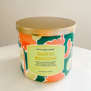 Bath and body works 3 wick cactus blossom candle
